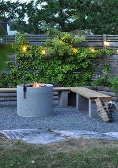 Dream Garden, Home And Garden, Outdoor Fireplace Designs, Corner Garden, Backyard Retreat, Pergola Designs, Outdoor Projects, Garden Planning, Garden Inspiration