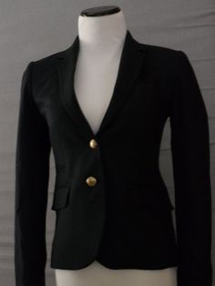 NEW $198 J. Crew Women's Schoolboy Blazer, SIZE 6, NAVY BLUE, 28233 Work Suit in Suits & Blazers | eBay