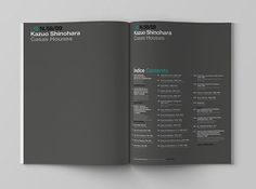 2G. International Architecture Review on Editorial Design Served