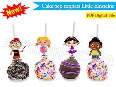 Printable Disney Little Einsteins Cake Pop Toppers by ANNILORACK