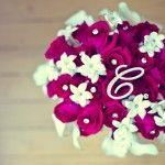 bouquet with monogram #dbbridalstyle