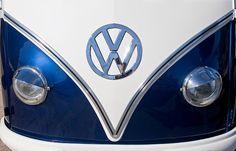 Volkswagen Images by Jill Reger - Images of Volkswagens - VW Images - 1958 Volkswagen Vw Bus Hood Emblem