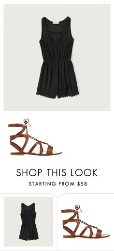 """""""Disney day #5 (lazy day)"""" by wdwswimmer on Polyvore featuring Abercrombie & Fitch and Gianvito Rossi"""