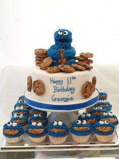 Mmmmmmm Coookie! - Cake by Cakes By Heather Jane