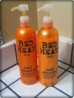 Bed Head Tigi Self Absorbed Shampoo and Conditioner
