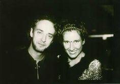Gustavo Ceratti y Andrea Echeverri.