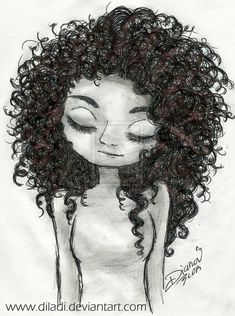 Curly Hair by diladi on deviantART                                                                                                                                                                                 More