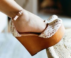 Bette Platform Wedge by Jeffrey Campbell