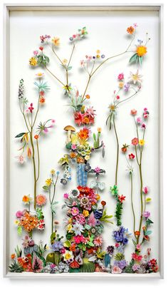 Incredible Flower Constructions by Anne ten Donkellar.