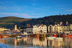 Independent spirit: The harbour at Ramsey, the Isle of Man's second biggest town