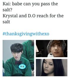 Im on team kaisoo sorry kaistal shippers but kai and DO are jist too cute together!#ThanksgivingWithEXO #EXO