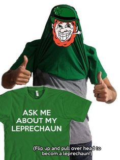 Ask me about my leprechaun t shirt funny st patricks « Holiday Adds
