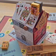 Game Night with Friends Candy Box -- Serve sweets at Game Night from a one-of-a-kind box.
