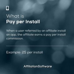 Do you like PAY PER INSTALL? 😍 - Follow us for more affiliate marketing tips Like & share ❤️ - Start your own Affiliate Network and boost your sales with AffiliationSoftware - #affiliationsoftware #affiliatemarketing #affiliate #affiliateprogram #install #cpi #marketingdigital #marketing #technology Affiliate Marketing, Digital Marketing, Marketing Technology, App, Software, Apps