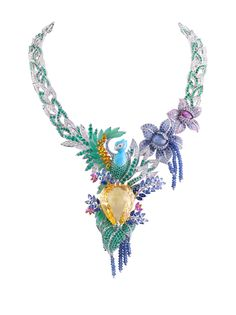 This breathtaking collar from Van Cleef & Arpels just dripping in jewels