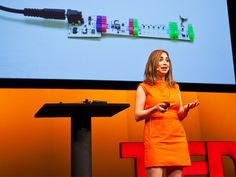 For the little kid engineers, designers, and Lego-addicts: TED Fellow Ayah Bdier introduces littleBits, a set of simple, interchangeable blocks that make programming as simple and important a part of creativity as snapping blocks together.