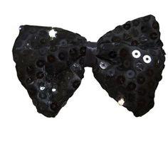 Jacobson Hat Company Men's Sequin Light up Bow Tie Black NEW #JacobsonHatCompany #LightUpBowTie