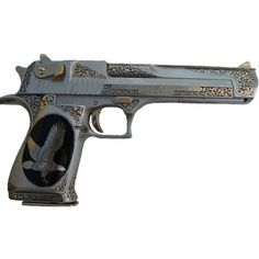 Custom Desert Eagle...this gun is smoking and a great zombie killer