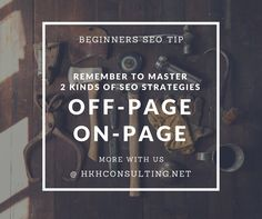 #SEO tips for #Beginners! More with us @hkhconsulting.net