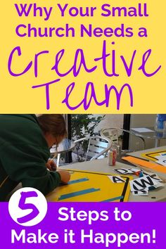 Looking for creative ideas for your small church? Build a creative team and wake up your worshipers with new twists for Sunday worship and special events. Church Ministry, Ministry Ideas, Church Welcome Center, Church Outreach, Church Fellowship, Sunday Worship, Church Stage Design, Worship Leader, Church Banners