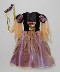 Take a look at this Purple Renaissance Princess Dress-Up Outfit - Toddler on zulily today!