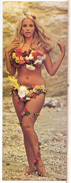 60s flower girl
