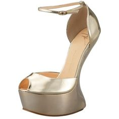 Fashion disaster right here. The point of high-HEELED shoes is to have a HEEL on them. These are horrible lol.