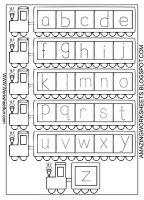 Train Free Printable Math Worksheets
