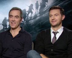 James Nesbitt and Richard Armitage iTunes exclusive interview