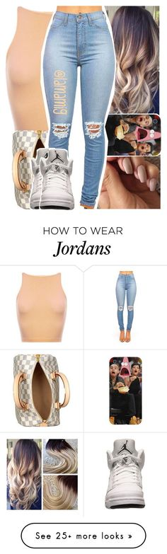 """""""this is really cute"""" by lamamig on Polyvore featuring мода, Louis Vuitton, Retrò, women's clothing, women's fashion, women, female, woman, misses и juniors"""