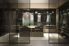 MILLIMETRICA Armario vestidor by MisuraEmme diseño Ennio Arosio, CRS MisuraEmme
