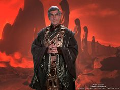 Star Trek Ambassador Sarek.