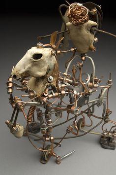 Aggie Zed: Keeper's Keep Found Art, Weird Art, Recycled Art, Art Object, Macabre, Unique Art, Sculpture Art, Art Dolls, Cool Art