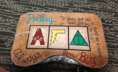 Alpha Gamma Delta Harry Potter themed lap board! submitted by:southerncharmandcomfort