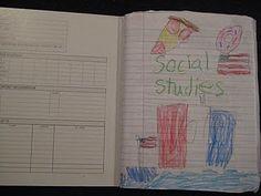 social studies notebooking