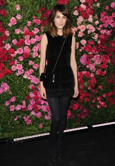 Alexa Chung in Chanel at Chanel's Tribeca Film Festival Artists Dinner 2012. (via @Styleite)