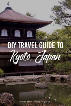 DIY Travel Guide Series to Kyoto, Japan The best way to get to Kyoto is through Shinkansen or what mostly know as the bullet train. You can buy a 7-day pass prior to your arrival in Japan from any local travel agency in your country. It is a few hours train ride from Tokyo or Osaka. Once in Kyoto, get a bus pass from Kyoto Station that is valid for 48 hours. This is the most practical way to reach the must-visit sites in the city.