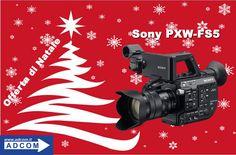 Offerta di Natale!Prezzo ribassato su Sony PXW-FS5 Super35 registrazione 4K  Info: http://www.adcom.it/it/search/q_n_30?searchstring=PXW-FS5&marche=&sito=1&but-search=Cerca