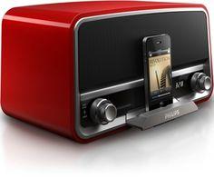 Philips Original Radio met iphone dock