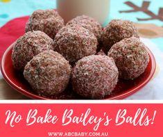 No Bake Bailey's Balls