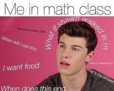Especially because math is my 1/2 period class