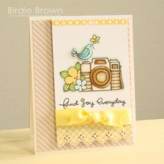 Birdie Brown: New Freebies & Challenge! Free digi stamp but it says only for April