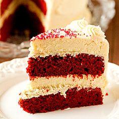 Red Velvet Cheesecake Recipe | Brown Eyed Baker