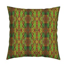 Catalan Throw Pillow featuring Rusty Trellis by chinaberries_studio   Roostery Home Decor