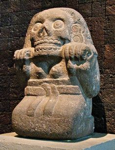 Mictecacihuatl was Goddess of Death, and wife of the Death God Mictlantecuhtil