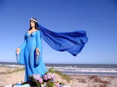 Iemanja, goddess of the sea...
