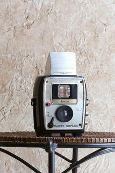 Vintage Ansco Cadet Reflex Twin Lens Camera