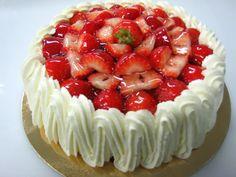 Varomeando: Tarta  de fresas con nata