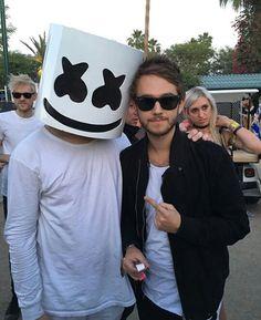 Marshmello with Zedd