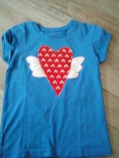 aufgepimptes shirt für jule